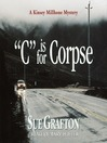 """C"" is for Corpse (MP3): Kinsey Millhone Series, Book 3"