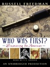 Who Was First? (MP3): Discovering the Americas
