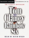 Rainbow Six (MP3): Jack Ryan Series, Book 10
