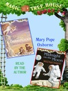 Magic Tree House, Books 7 & 8 (MP3): Sunset of the Sabertooth, Midnight on the Moon