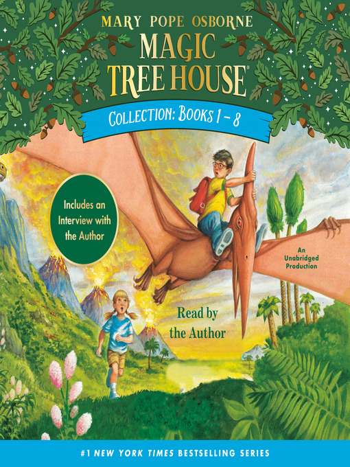 Magic Tree House Collection, Books 1-8 (MP3)