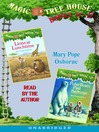 Magic Tree House, Books 11 & 12 (MP3): Lions at Lunchtime, Polar Bears Past Bedtime