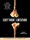 Limitations (MP3): Kindle County Series, Book 7
