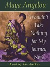 Wouldn't Take Nothing For My Journey Now (MP3)