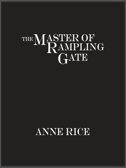 The Master of Rampling Gate (MP3)