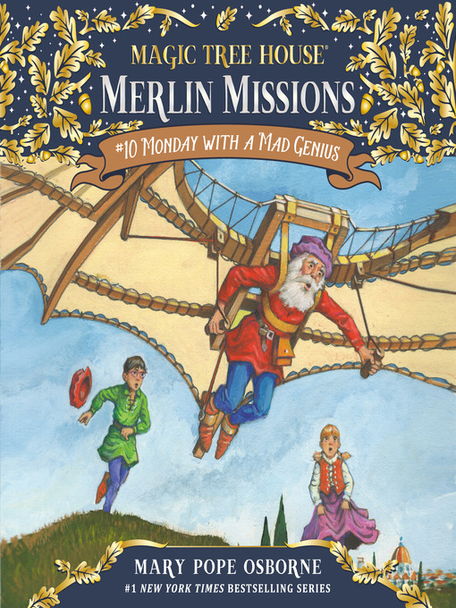 Monday with a Mad Genius (MP3): Magic Tree House Series, Book 38