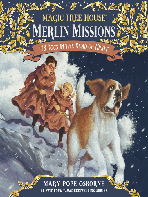 Dogs in the Dead of Night (MP3): Magic Tree House Series, Book 46