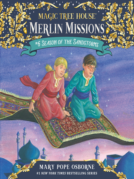 Season of the Sandstorms (MP3): Magic Tree House Series, Book 34