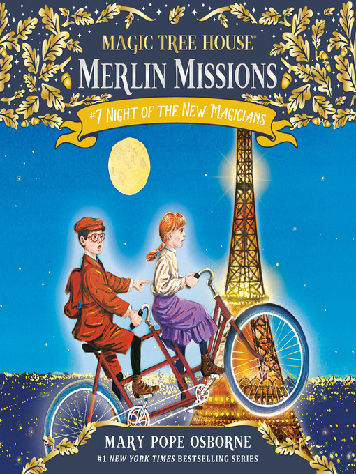 Night of the New Magicians (MP3): Magic Tree House Series, Book 35