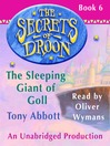 The Sleeping Giant of Goll (MP3): The Secrets of Droon Series, Book 6