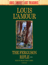 The Ferguson Rifle (MP3): Talon and Chantry Series, Book 3