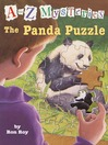 The Panda Puzzle (MP3): A to Z Mystery Series, Book 16
