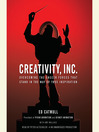 Cover image for Creativity, Inc.