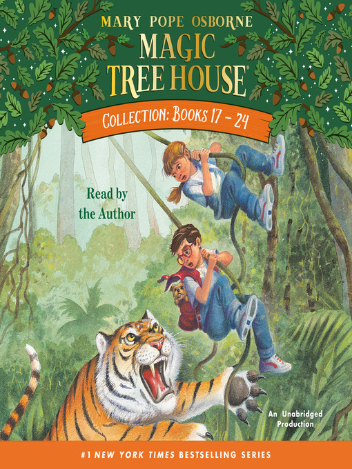 Magic Tree House Collection, Books 17-24 (MP3)