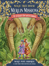 A Crazy Day with Cobras (MP3): Magic Tree House Series, Book 45