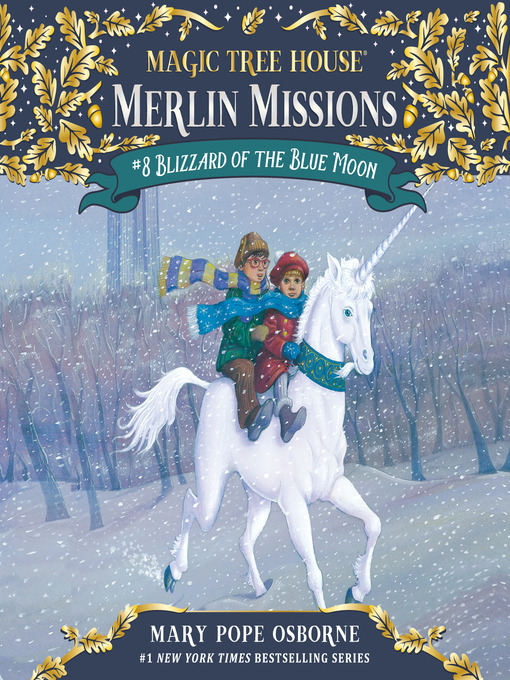 Blizzard of the Blue Moon (MP3): Magic Tree House Series, Book 36