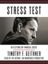 Stress Test (MP3): Reflections on Financial Crises