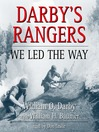 Darby's Rangers (MP3): We Led the Way