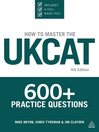 How to Master the UKCAT (eBook): 600+ Practice Questions
