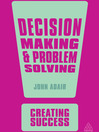 Decision Making and Problem Solving (eBook)