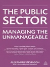 The Public Sector (eBook): Managing the Unmanageable