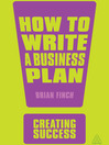 How to Write a Business Plan (eBook)