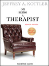 On Being a Therapist (MP3)