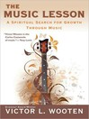 The Music Lesson (MP3): A Spiritual Search for Growth Through Music