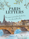 Paris Letters (MP3)