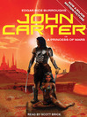 John Carter in A Princess of Mars (MP3): John Carter of Mars Series, Book 1