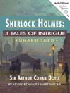 3 Tales of Intrigue (MP3)
