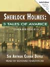 3 Tales of Avarice (MP3)