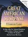 Great American Suspense (MP3): 5 Unabridged Classics