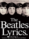The Beatles Lyrics (eBook)
