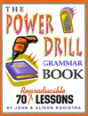 The Power Drill Grammar Book by John Kooistra eBook