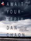 Await your reply a novel