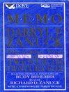 Memo From Darryl F. Zanuck (MP3): The Golden Years at Twentieth Century Fox