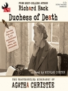 Duchess of Death (MP3): The Unauthorized Biography of Agatha Christie