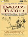 Barbs from the Bard (MP3): Shakespearean Insults with Modern Translations and Notes