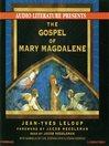 The Gospel of Mary Magdalene (MP3)