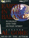 Earth in the Balance (MP3): Ecology and The Human Spirit