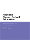 Anglican Church School Education (eBook): Moving Beyond the First Two Hundred Years