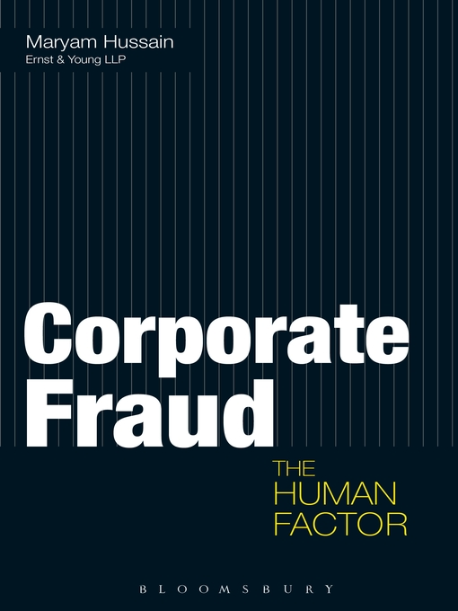 Corporate Fraud (eBook): The Human Factor
