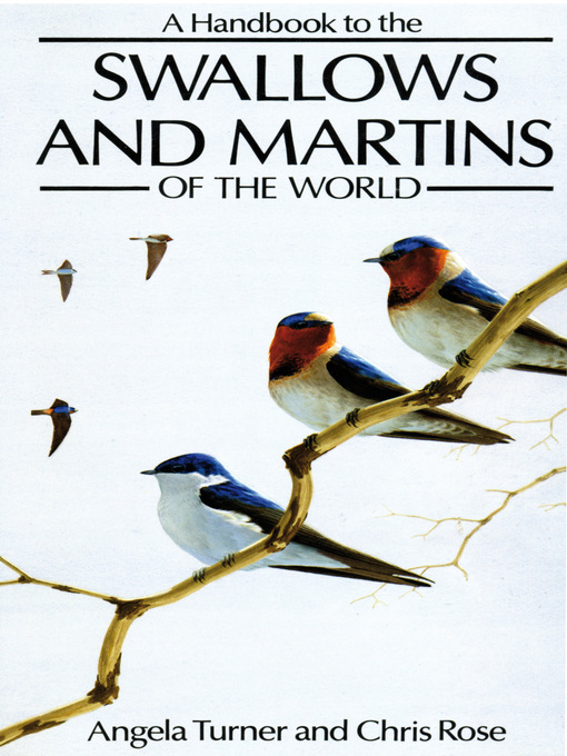 A Handbook to the Swallows and Martins of the World (eBook)