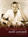 The Complete Verse of Noël Coward (eBook)
