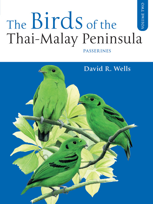 The Birds of the Thai-Malay Peninsula, Volume 2 (eBook)