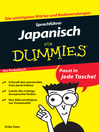Sprachführer Japanisch für Dummies (eBook): Das Pocketbuch