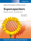 Supercapacitors (eBook): Materials, Systems and Applications