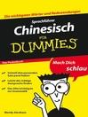 SprachfÜhrer Chinesisch fÜr Dummies Das Pocketbuch (eBook)