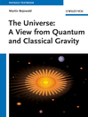 The Universe (eBook): A View from Classical and Quantum Gravity